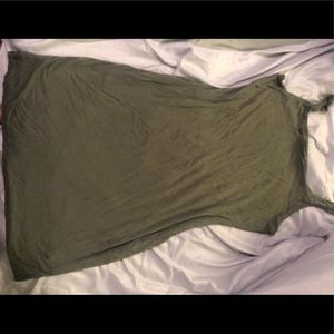 Green tank dress!